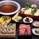 お鍋に天ぷらやお造りを盛り込んだコースもご用意しております。
