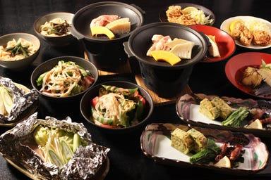 肉と魚とめん料理 なにがし 豊田コモスクエア店 コースの画像