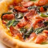 ★pizza 850円~ 生地から手作り!パーティにおすすめ!