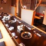 各種宴会に使える大型個室あります!最大20名様までOK