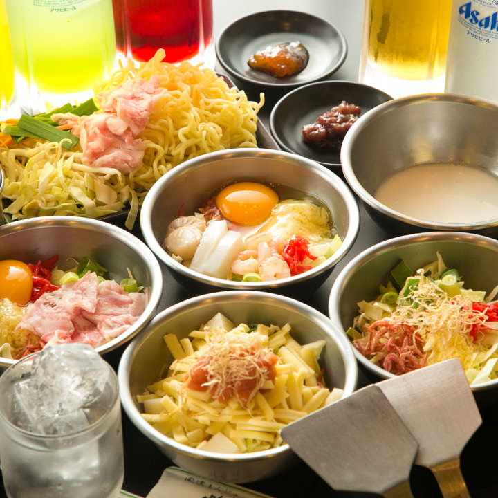 たっぷり2時間!大満足の食べ飲み放題コースが2,160円(税込)~