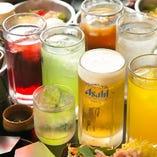 アルコール飲み放題メニュー