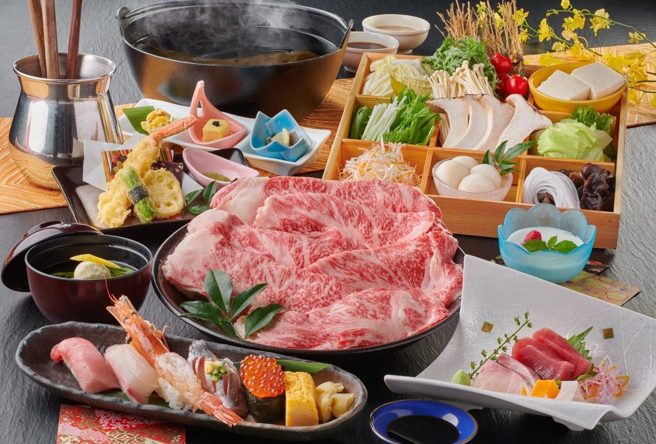 【和豚もちぶたしゃぶと季節会席コース】お料理のみ☆3,000円(税別)