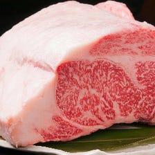 オーナー厳選の美味しいお肉を取り揃え