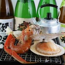 五聚富ならでは♪海鮮食べ放題!