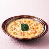 3種チーズの海老ドリア