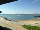 海水浴場 大野海岸は目の前にひろがってます。