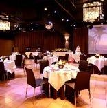 【貸切フロア】同ビル内には、30名~最大250名様の貸切パーティースペースを併設しております。結婚式、2次会、3次会、同窓会、忘年会、新年会、歓迎会、送別会、決起会、ダンスパーティー、バンド演奏など各種パーティーが可能。