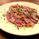 肉のカルパッチョ