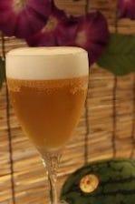 飲み放題も、もちろんビール