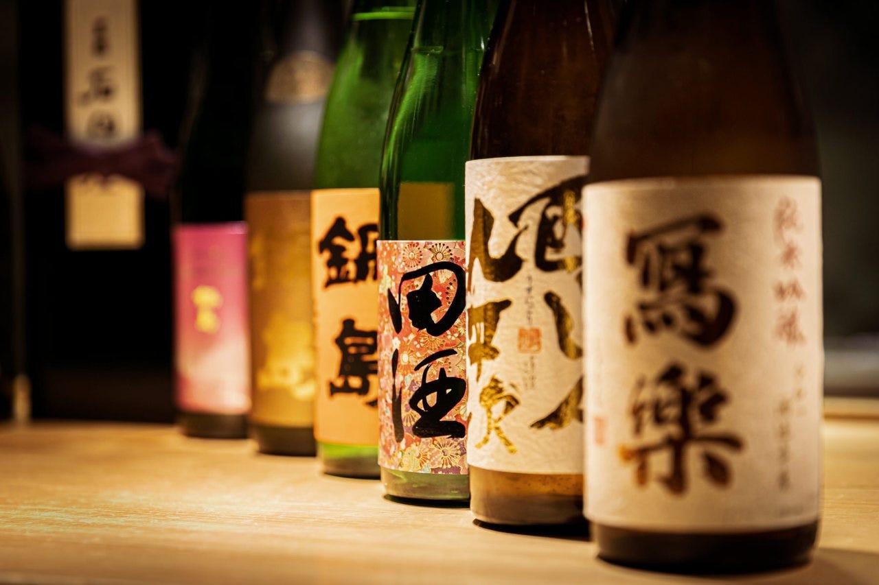 唎酒師の副料理長が厳選した日本酒