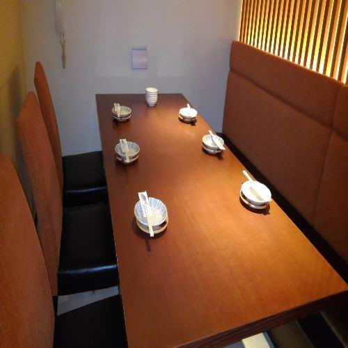 接待や食事に、完全個室でおもてなし