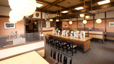 和食麺処サガミ西大津店  店内の画像