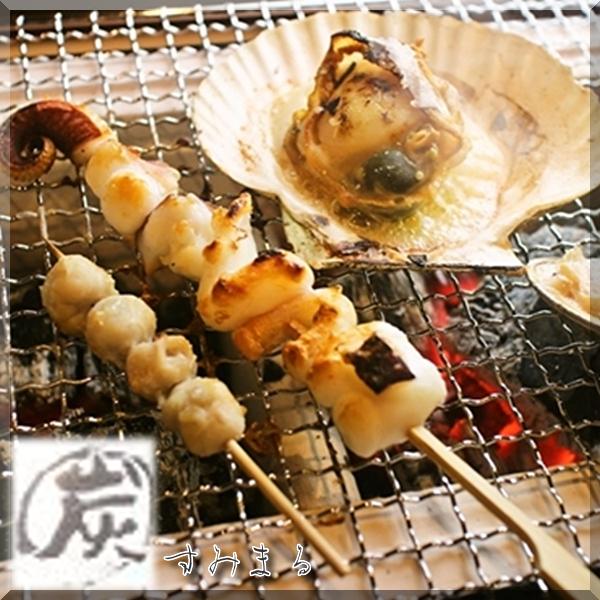 海鮮七輪炭火焼 炭〇(すみまる)