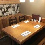 少人数からご利用可能なテーブル個室(2~最大18名様)