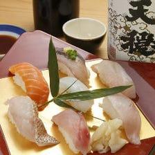 熟練の職人が握る寿司1貫120円~