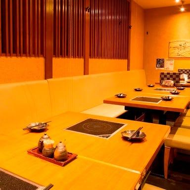 九州料理と地酒の店 福の神 ブルク大森店 店内の画像