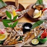 焼魚をすっきりとした辛口のお酒と合わせて晩酌はいかがですか?