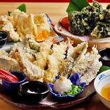 土佐盛り天ぷら