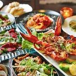 鉄神dining自慢のコース料理は2500円~6000円(税込)まで御座います。