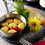 青森県産にんにくのオイル焼き