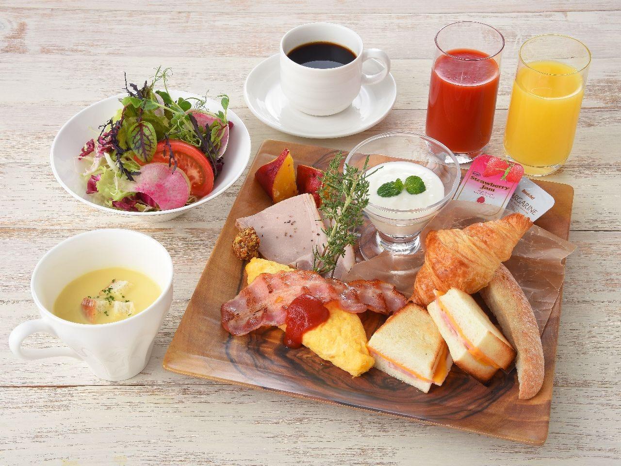 ★朝食「洋食」 個人盛でのご提供となります