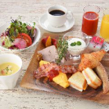 ◆モーニングセット◆ レストランで一日の始まりを♪