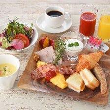一日のはじまりは朝食から・・・