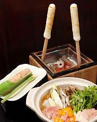 秋田名物 きりたんぽ鍋