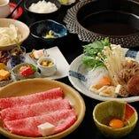 すき焼き 舞コース/全8品/5,500円