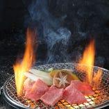 炭火で美味しく焼き上げます