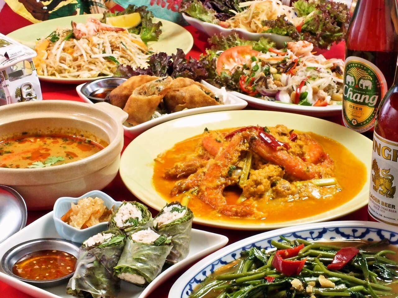タイ国商務省認定の本格・本場の味をご堪能ください