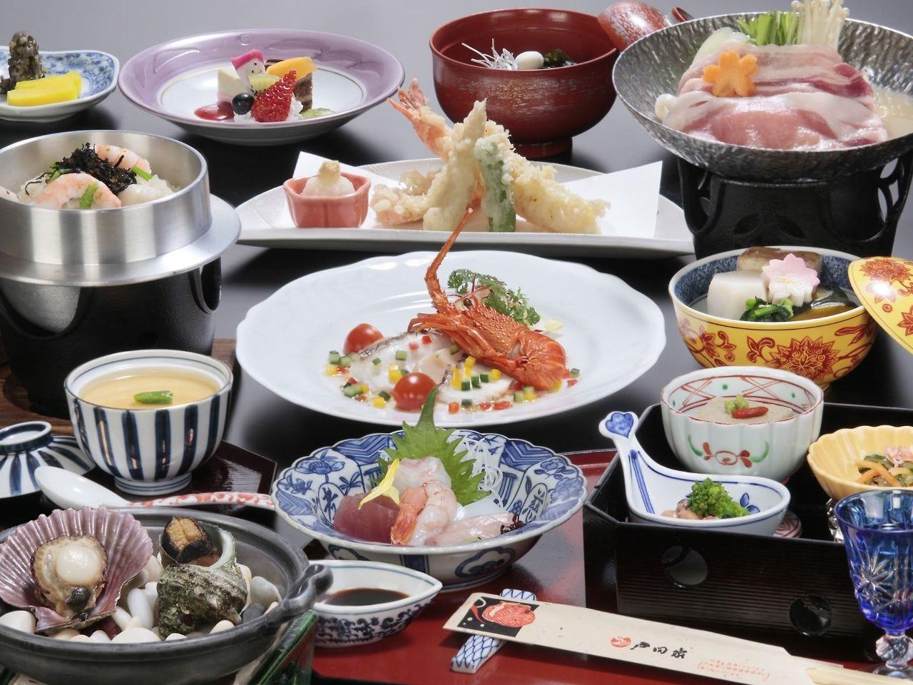 日帰り昼食プラン「季楽」<お座敷又レストラン>