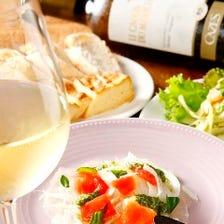 おいしいワインとビオなお食事