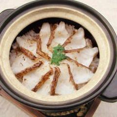 真鯛の土鍋めし(宮城県:つや姫)