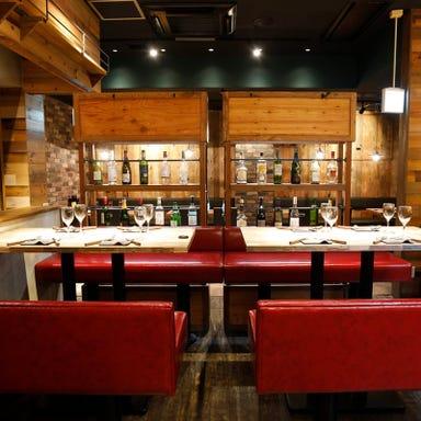 美味しいチーズと肉と酒 BE JO‐TA(ベジョータ)豊橋店 店内の画像