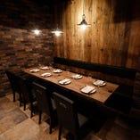 オシャレな空間で美味しいお酒とお料理をお楽しみください♪