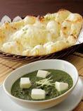 インドのチーズとほうれん草の グリーンカレー◎パニールパラグ