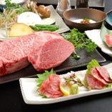 神戸牛肉づくしステーキコース