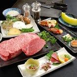 神戸牛と海鮮焼きコース