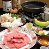 神戸牛すきやきコース