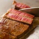 創業明治39年。伝統を受け継ぐ極上の神戸牛ステーキ。