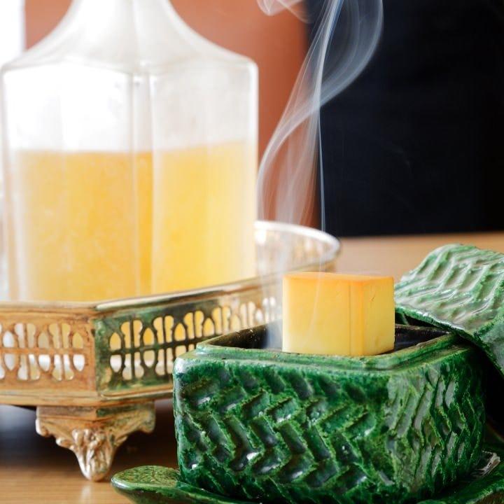独創的な逸品と厳選のお飲み物