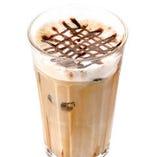 エスプレッソの香り高い『アイスカフェモカ』甘くてほろ苦~い♪