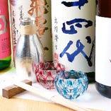 酒器等の器は名工の作品が多数。画像は『天満切子』