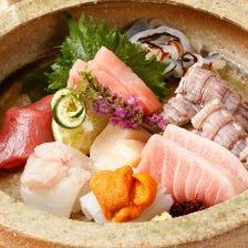 高級感あふれる店内で日本料理を堪能
