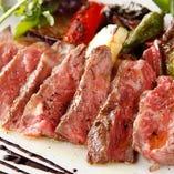 ≪ 牛肉のステーキ ≫