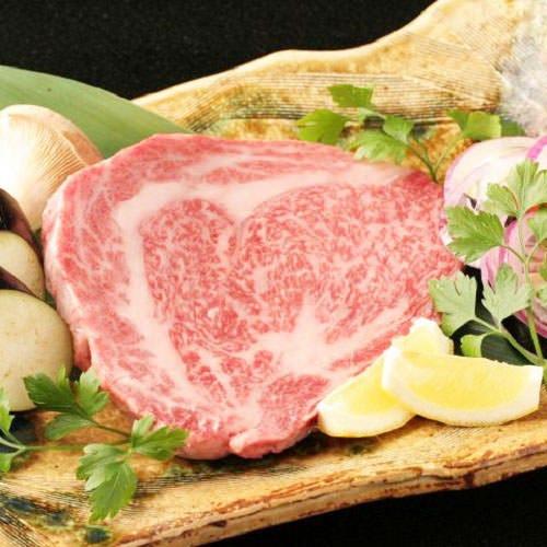 山形牛の熟成肉♪