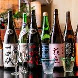 夜0時まで日本酒や本格焼酎・クラフトビールで!!