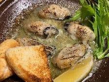 牡蠣のバター焼
